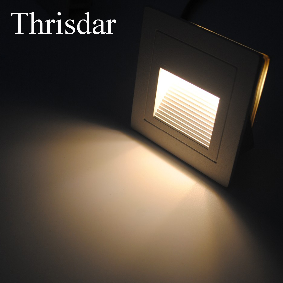 Led Outdoor Wall Lamps Led Lamps Thrisdar Outdoor Waterproof Led Ladder Light Stair Light Embedded Corner Light Outdoor Led Underground Deck Foot Light Good Reputation Over The World