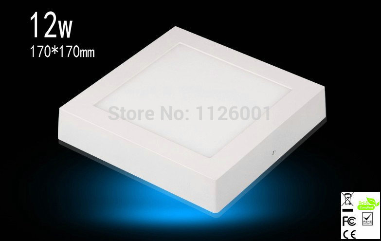 2016 Time Limited Luminaria Teto Led Hot Sell 4pcs/lot Square Surface Mounted Down Lights Advantage Products High Quality