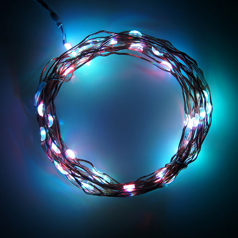 3M 30 LEDS Decoration LED Copper Wire Fairy String Lights Lamps For Christmas Wedding Party Garland Decoration