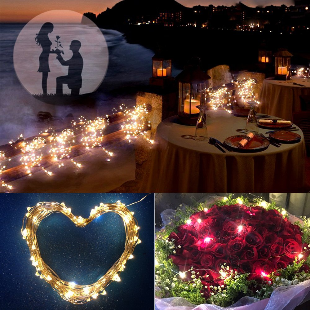 LED String Lights Fairy Light 10M 5M LED Strip for Home Holiday Christmas Party Wedding&Garden Waterproof Flexible  DC12V Stage