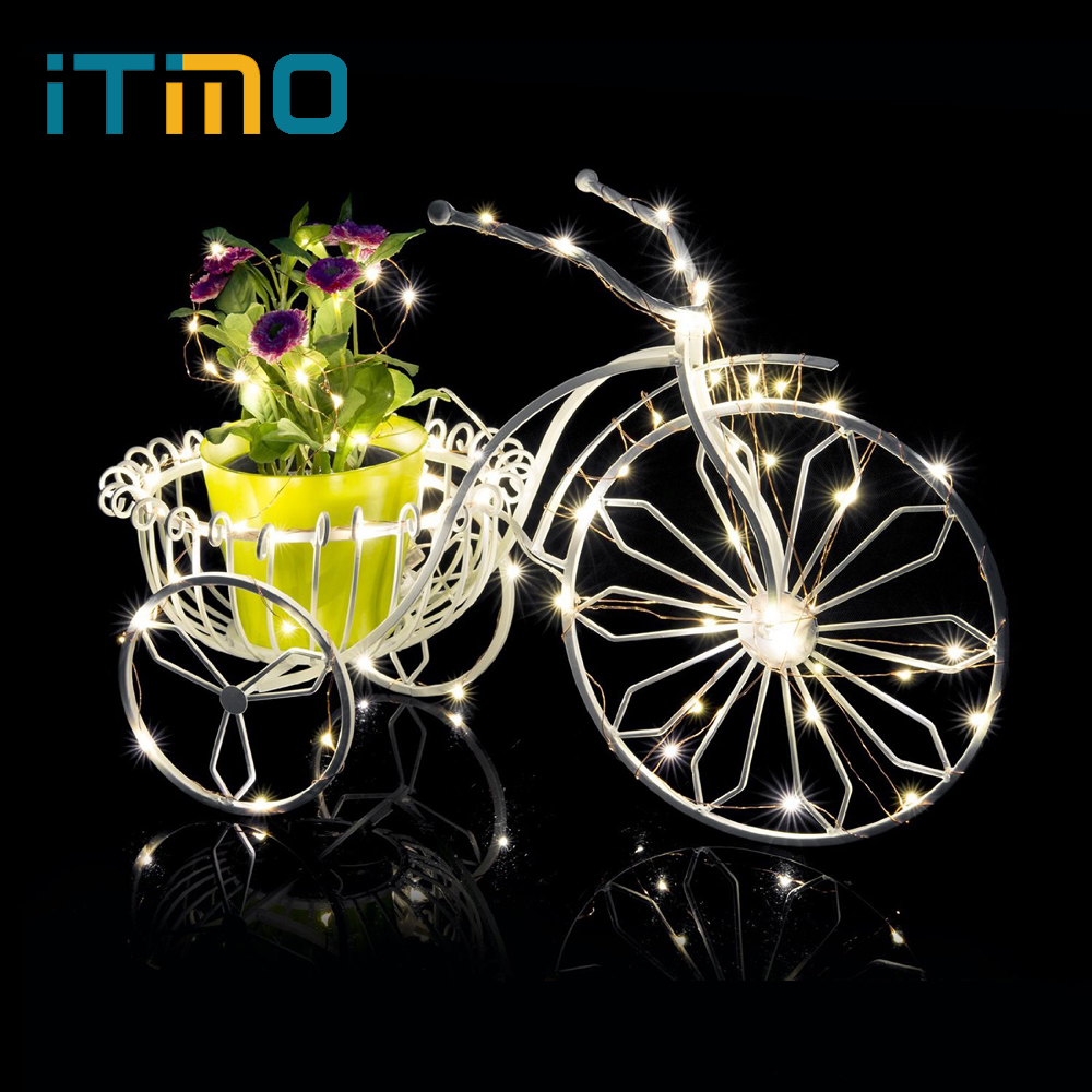 iTimo 10 LEDs Mini Fairy Light String Christmas Tree Decoration Light Home Party Decorative Lighting Flasher Atmosphere Lamp