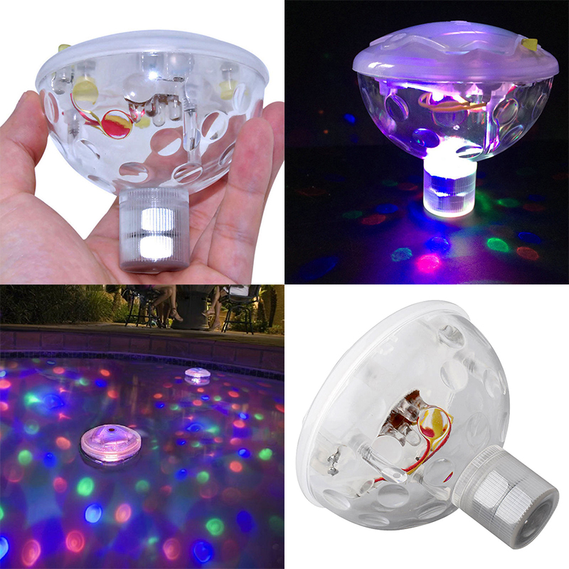 1pc New Floating Underwater LED Party Light Glow Show Swimming Pool Tub Spa Lamp