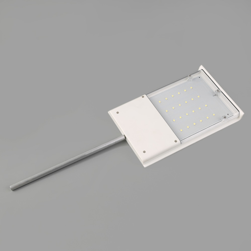 24 LED Ultra-thin Waterproof Light Solar Powered Sensor Wall Street Light Outdoor Lamp Garden Light Garden decoration