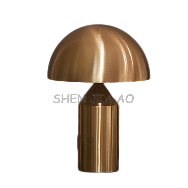 Mushroom shape desk lamps minimalist style  large mushroom lamp living room/bedroom/hotel bedside lamp 110/220V