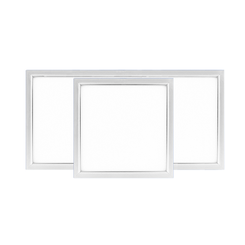 Silver Ultra-thin Integrated Ceiling Flat led panel ceiling lamps300*300/300*600 School/Hospital/Supermarket/Office/ceilinglight