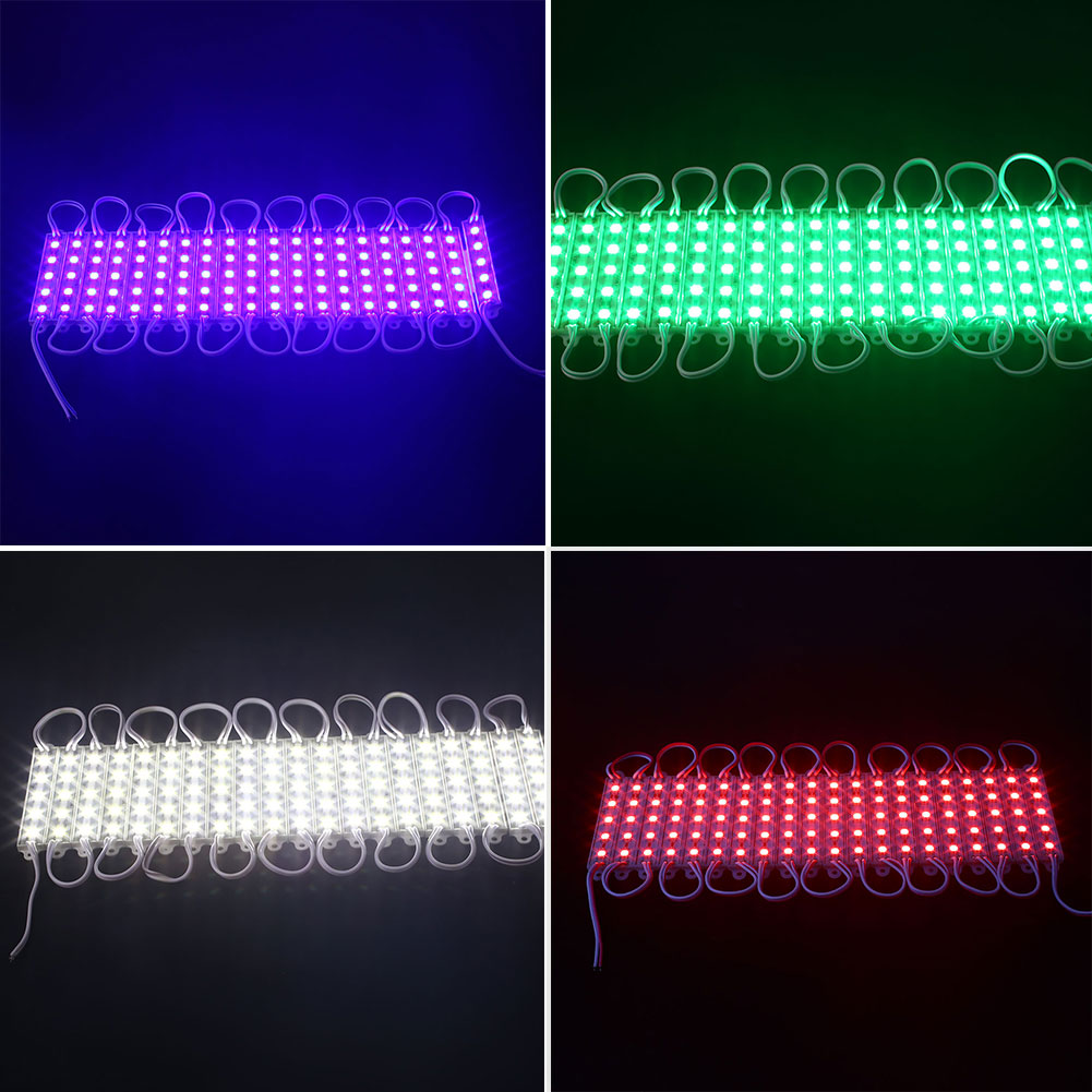 20Pcs/Set DC12V 18W 5050 SMD Module LED Lamp Strips Waterproof Decoration Decors