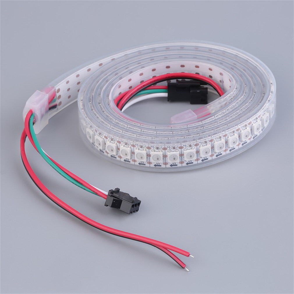 WS2812B 5050 RGB LED Strip 1M 60 Leds Individual Addressable 5V Waterproof