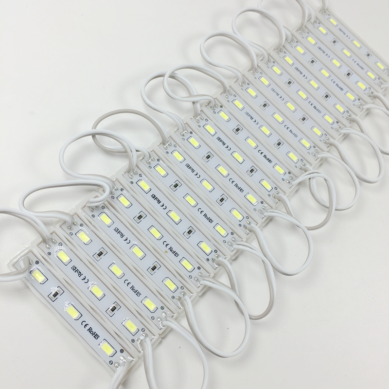 New arrival DC12V SMD 5730 3LEDs LED Modules IP65 Waterproof Light Lamp 5730 Cool White High Quality Advertising Light