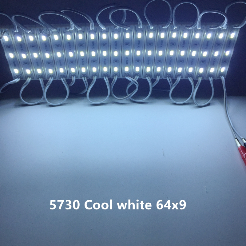 LED Module 2835 5730 5630 DC12V Waterproof Advertisement Design LED Modules Super Bright Lighting 20PCS/Lot