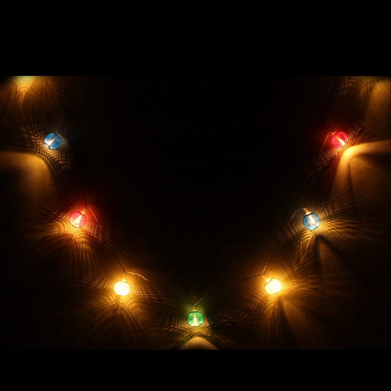 10/20 LED String Light Battery Non Waterproof Lantern Shaped Patio Christmas Wedding Party Decoration LED Fairy Holiday Light