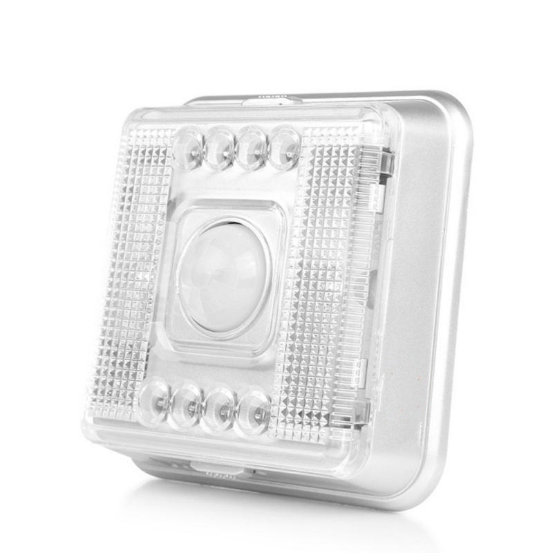 IR Motion Sensor LED Night Lamp Wall Lamp  Bedroom Hall Cabinet Stairwells Outdoor