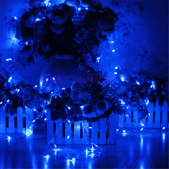 LED String Light 10M Waterproof 110V/220V 100leds Holiday String Lighting 9 Colors Christmas Festival Party Outdoor Decoration