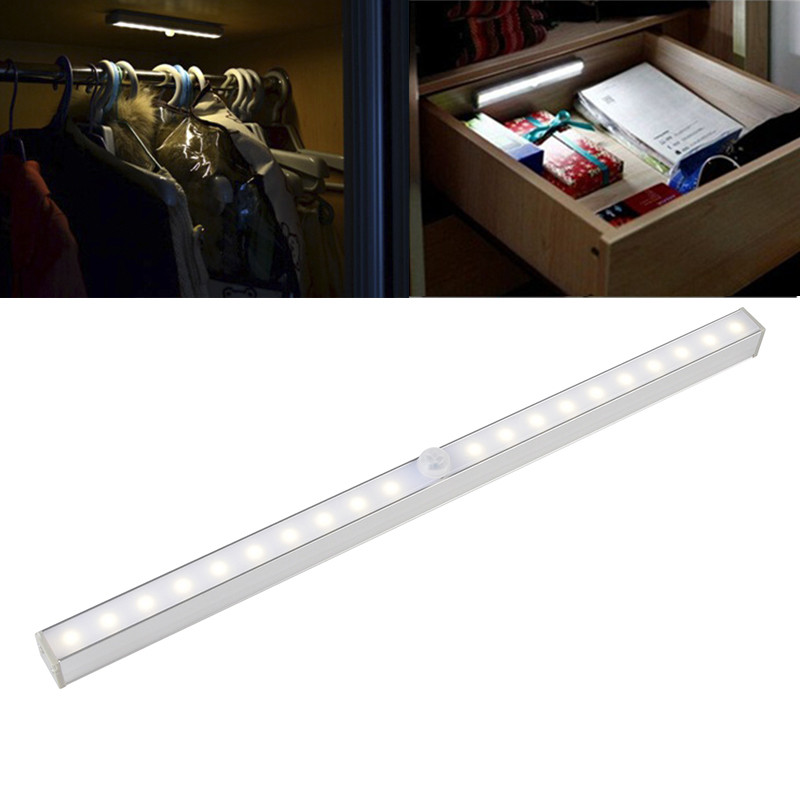 Mini Wireless Wall Light Closet Lamp 20 LED Motion Sensor Night Light Home Lighting for Under Kitchen Cabinets high quality