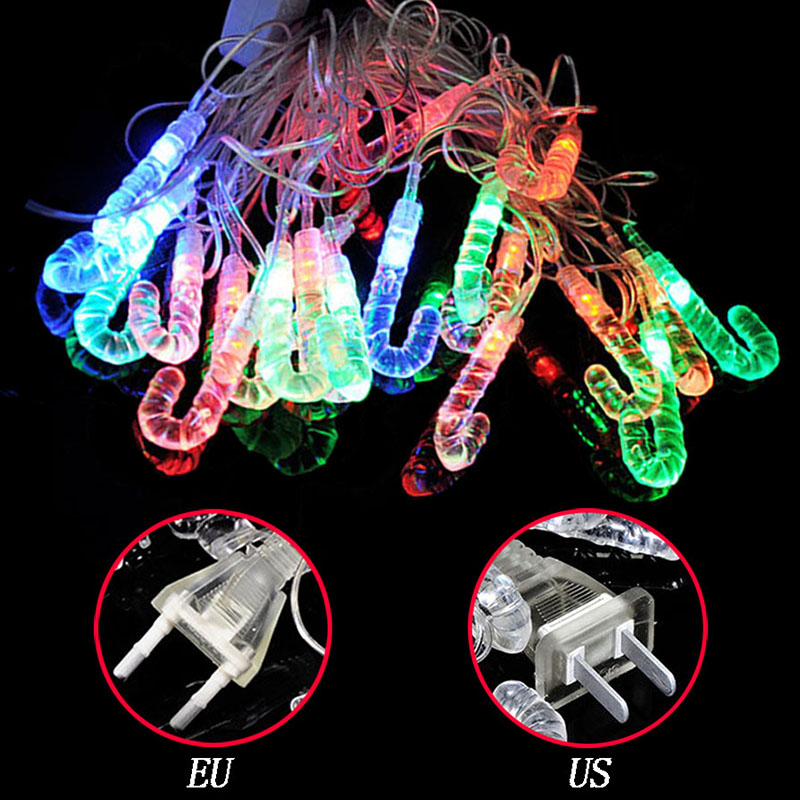 4M 20 Led candy bar Halloween christmas tree festivals venue appliances pendant decorative lighting lantern light string P20
