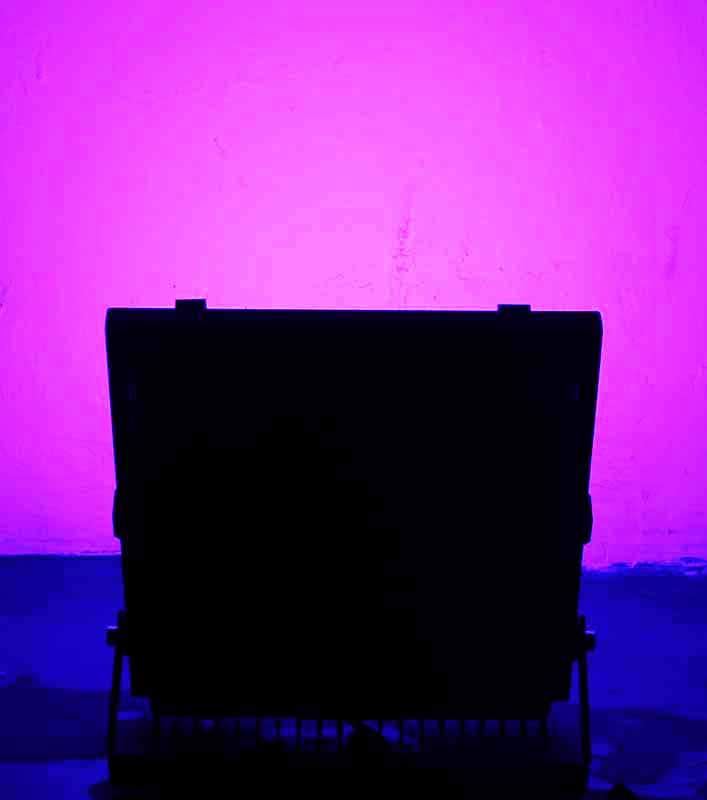 Lagpousi 100w Purple 400 435nm Led Flood Light Outdoor
