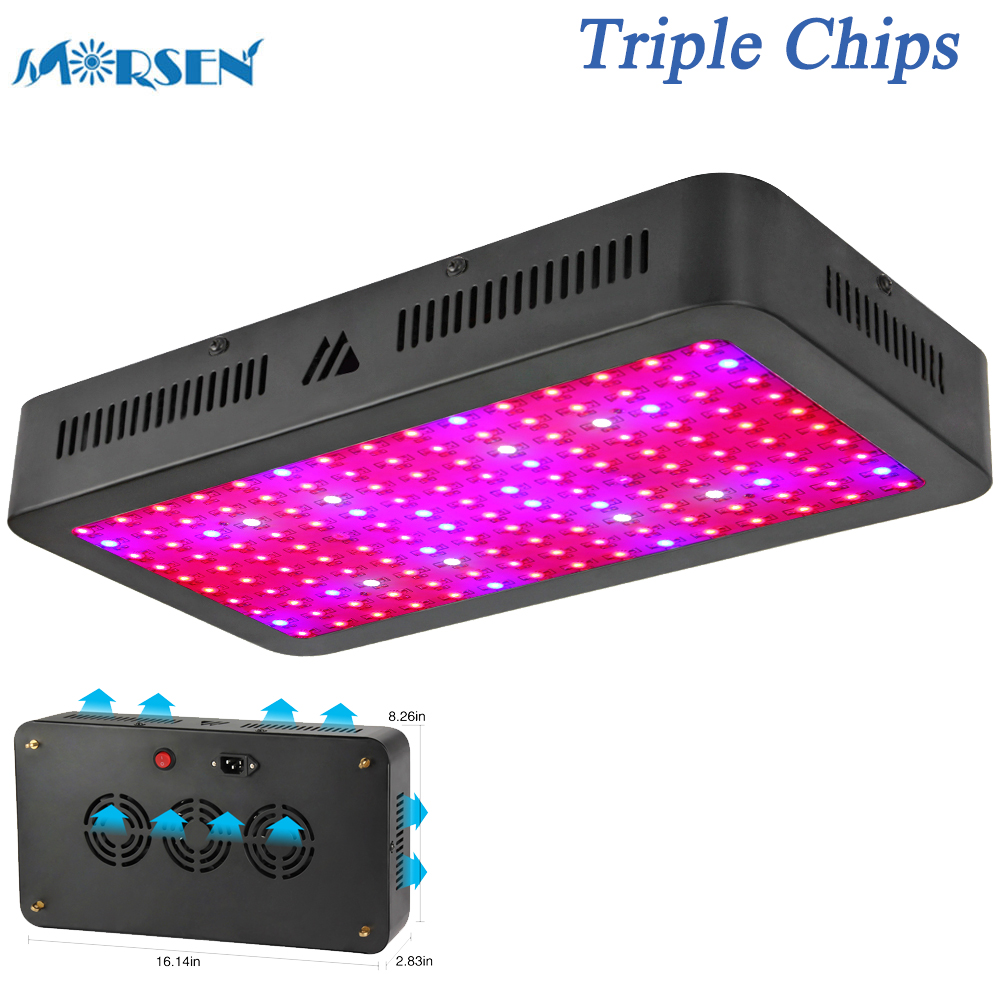 1000W 1500W LED Grow Light, Triple Chips Full Spectrum Plant Lamp for Indoor Plants Veg Flower All Phases of Growth (10W Leds)25