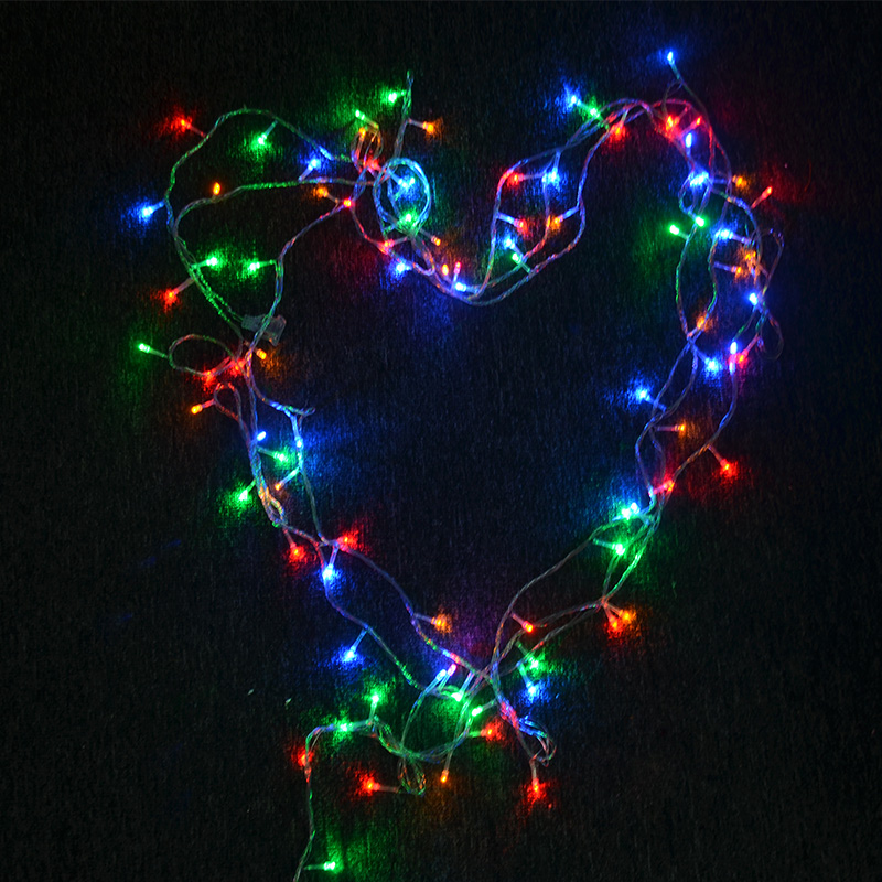LED String Light 10M 100LED EU Plug Waterproof 220V  Holiday String Lighting 9 Colors Christmas Lights Party Outdoor Decoration
