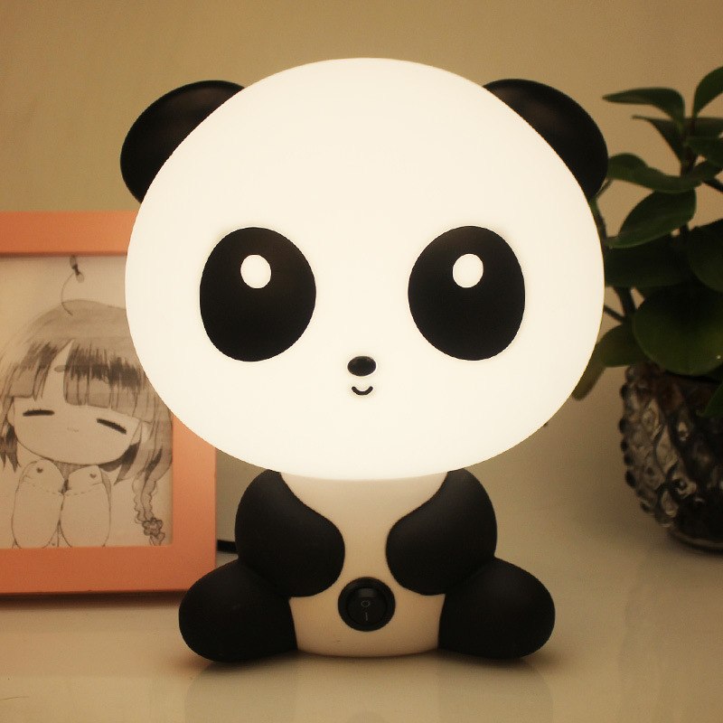 New Led Animal Lamp for Children Led Panda Night Lights Bedroom Decoration Night lamp for Kids with US EU Plug