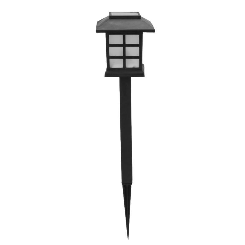 2pcs Solar panel Retro Chinese LED Spike Garden Wall Lamp Waterproof Outdoor Lighting LED Solar Light Lawn Landscape Lamp