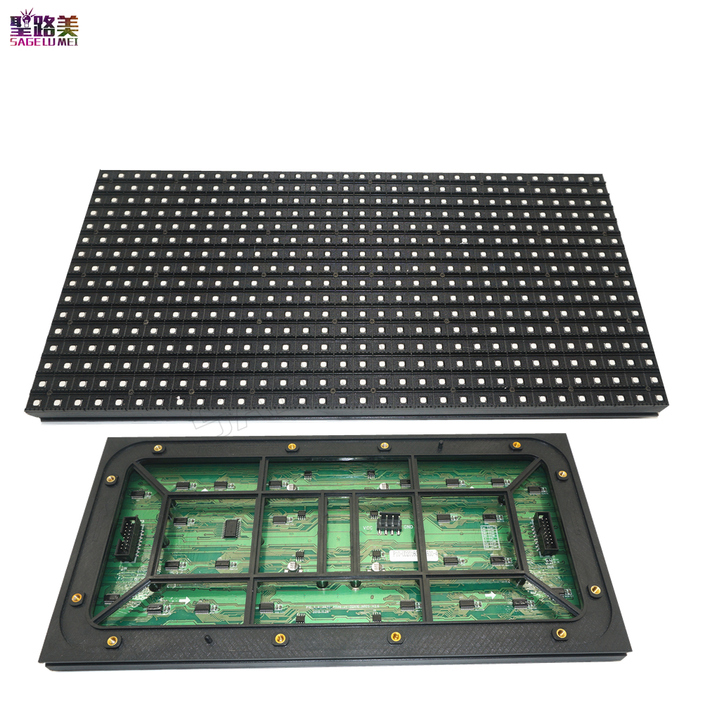 320*160mm 32*16pixels P10 out door RGB/Red/White/Green /Blue LED module for Single color LED display Scrolling message led sign