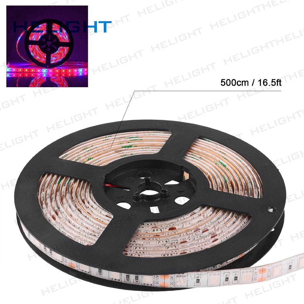 5050 Plant strip DC12V 60Leds/M LED Plants Growing Strip Light 5050 Waterproof For Living Room/Garden/Square Decorating Light
