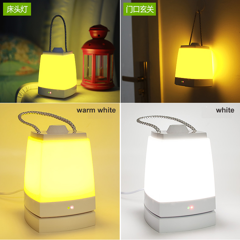 100% Originale Rechargeable Creative desk lamp portable mushroom lamp Emergency led lamp Use at night
