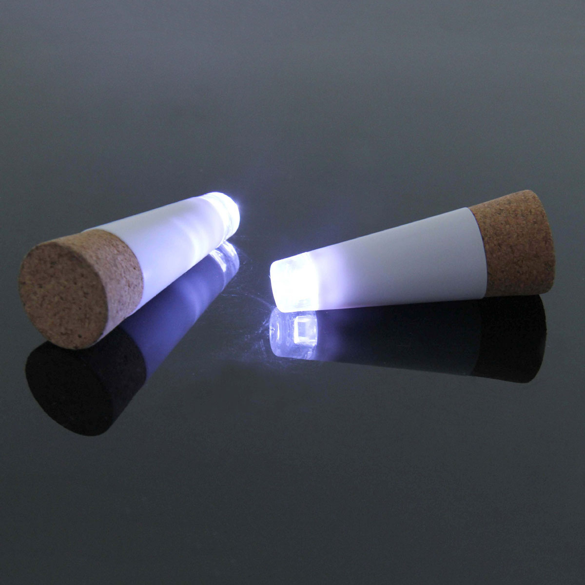 1 piece LED rechargeable shiny bottle cap cork stopper cap lamp creative romantic cork lights festive atmosphere lights