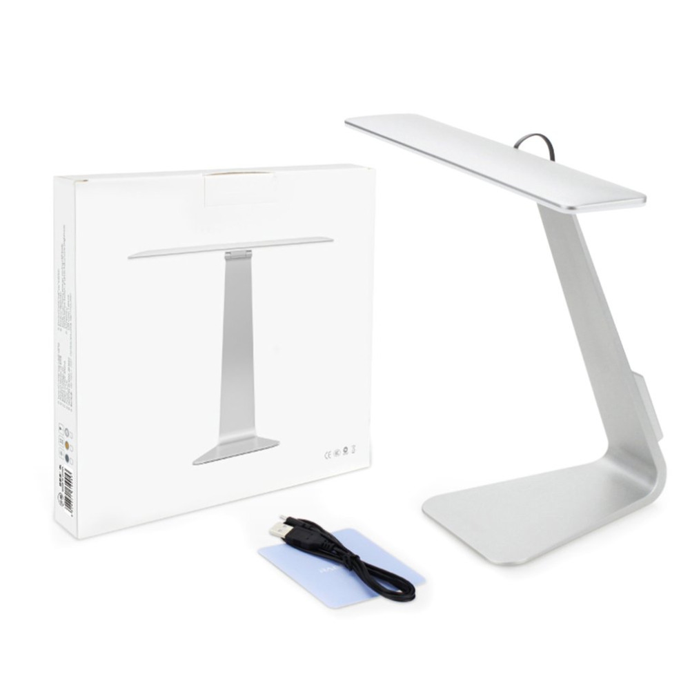 USB Charging Folding Desk Lamp Portable Foldable Eye-care Reading Lamp Touch-sensitive Control Light For Bedtime Nightlight