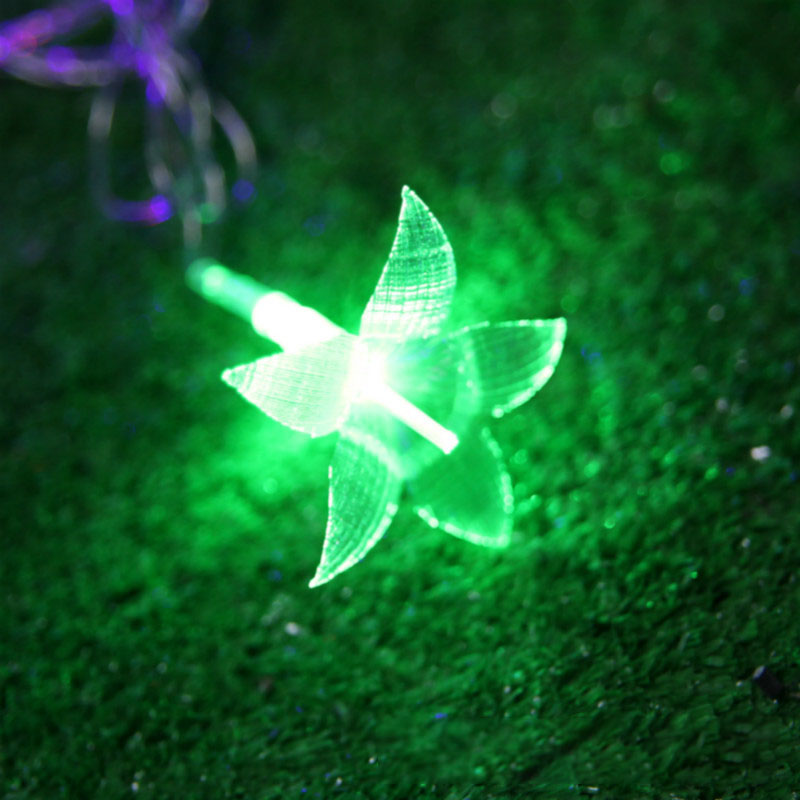 33FT 38 LED String Light Colorful Flower Lily LED Fairy Light Christmas Wedding Patio Decoration Garden LED String Light
