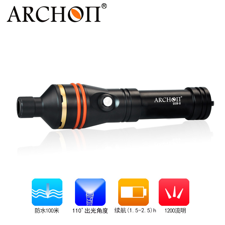 Amazing light Flashlight Torch Supfire L6-XPE XML2-T6 300LM Aluminum IP6-7 Waterproof Camping Self-defense Portable light