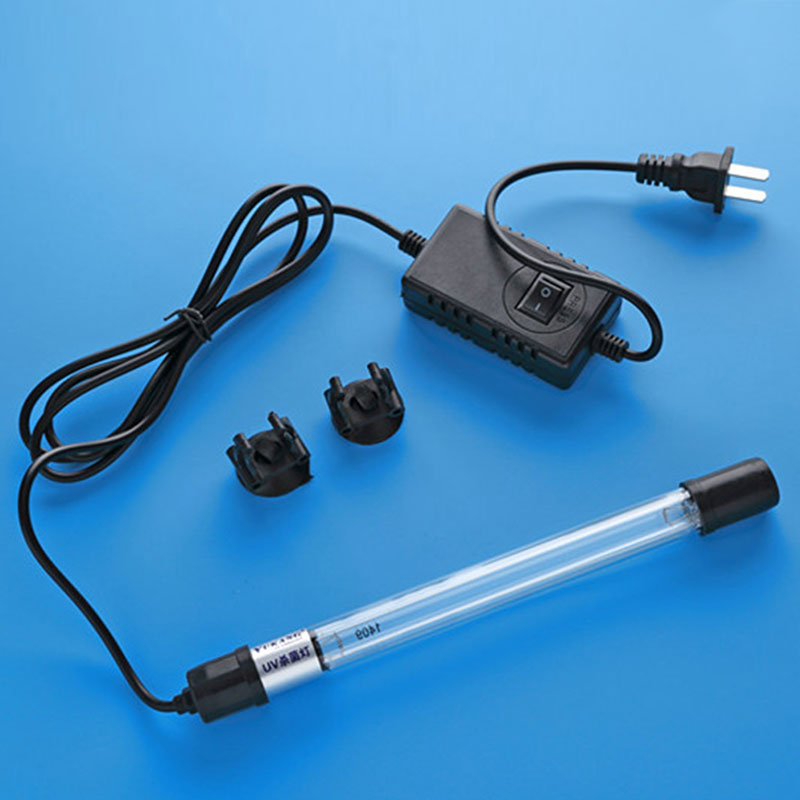 Fish Tank UV Light Sterilizer 11W Lamp for Aquarium Water Disinfection