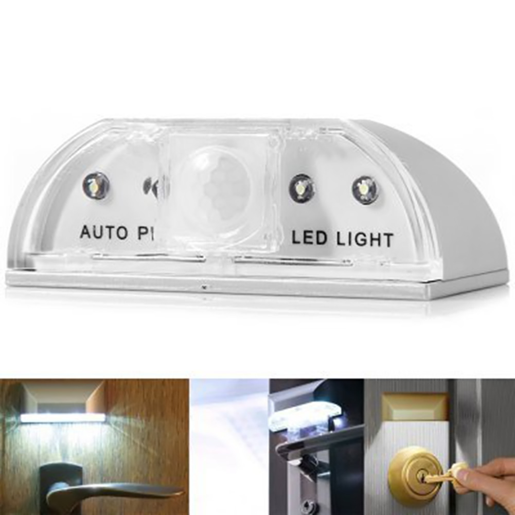 Auto PIR Sensor LED Night Light LED Door Lock Opening Induction Lamp Human Intelligent Light Cabinet LED Light