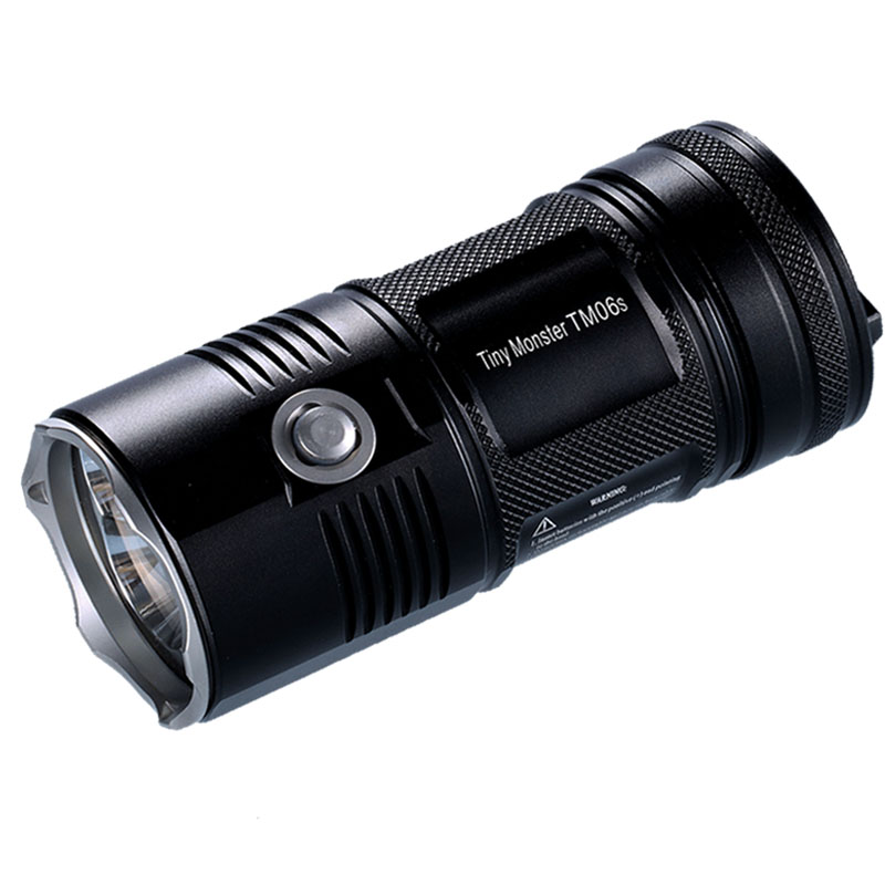 Search Flashlight NITECORE TM06S CREE XM-L2 U3 LED max. 4000 lumen beam distance 359M high lumen torch for camping search