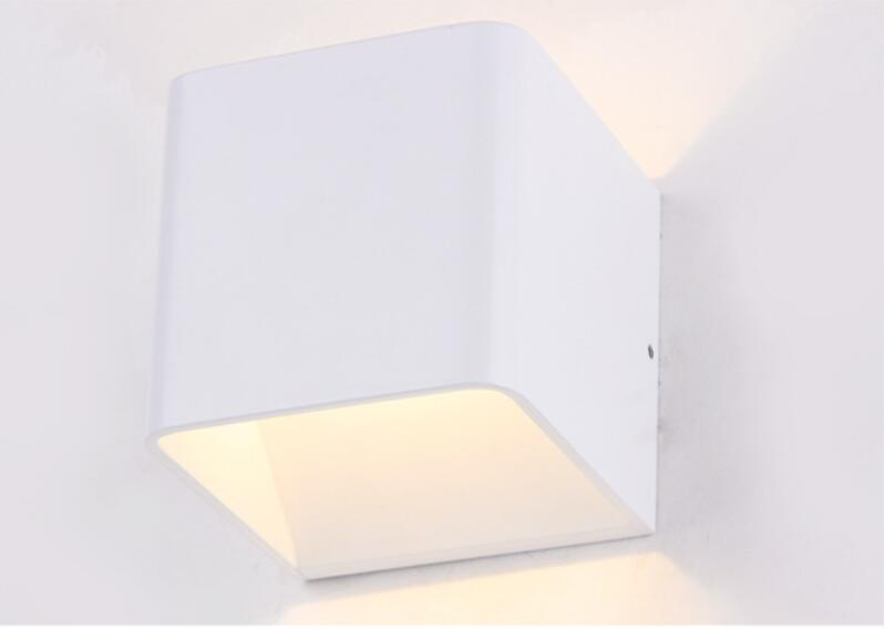 YON 1PCS 7W 12W LED Wall Light Outdoor Waterproof IP65 Modern Brief Cube Adjustable Wall Lamps Living Room Porch Garden Lamp
