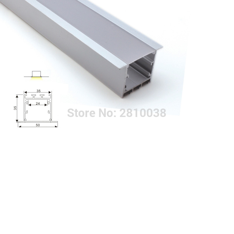 18 X 2M Sets/Lot New developed led alu profile and super deep T-shapeled channel for ceiling or wall lighting