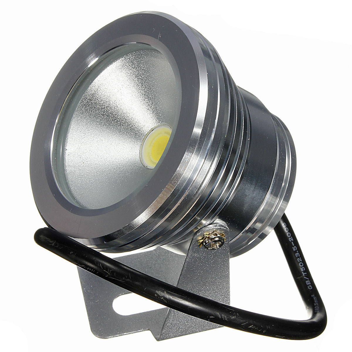 Jiguoor 10W LED Swimming Pool Light Underwater Waterproof IP67 Landscape Lamp Warm/Cool White AC/DC 12V 800 - 900lm