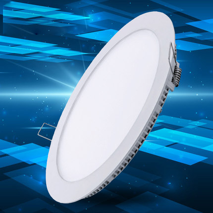 Ultra Thin Led Panel Downlight 3 w 6 w 9 w 12 w 15 w 18 w LED Round Ceiling Light Built-in AC85-265V LED Panel Light SMD2835