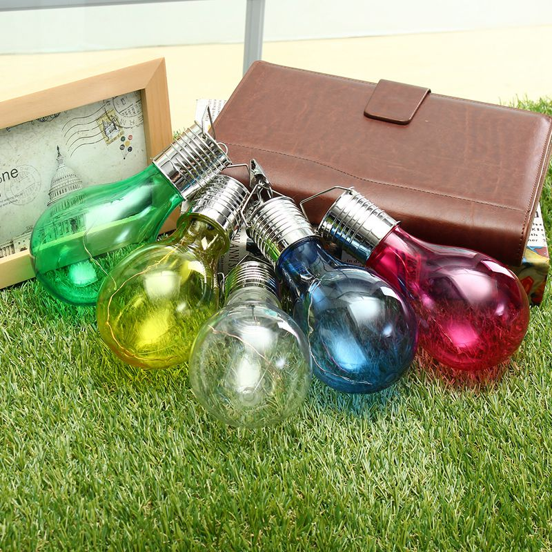 Solar Powered Warm White Rotatable LED Bulbs Solar Light Outdoor Garden Holiday Light Bulb Waterproof IP44 Lamp