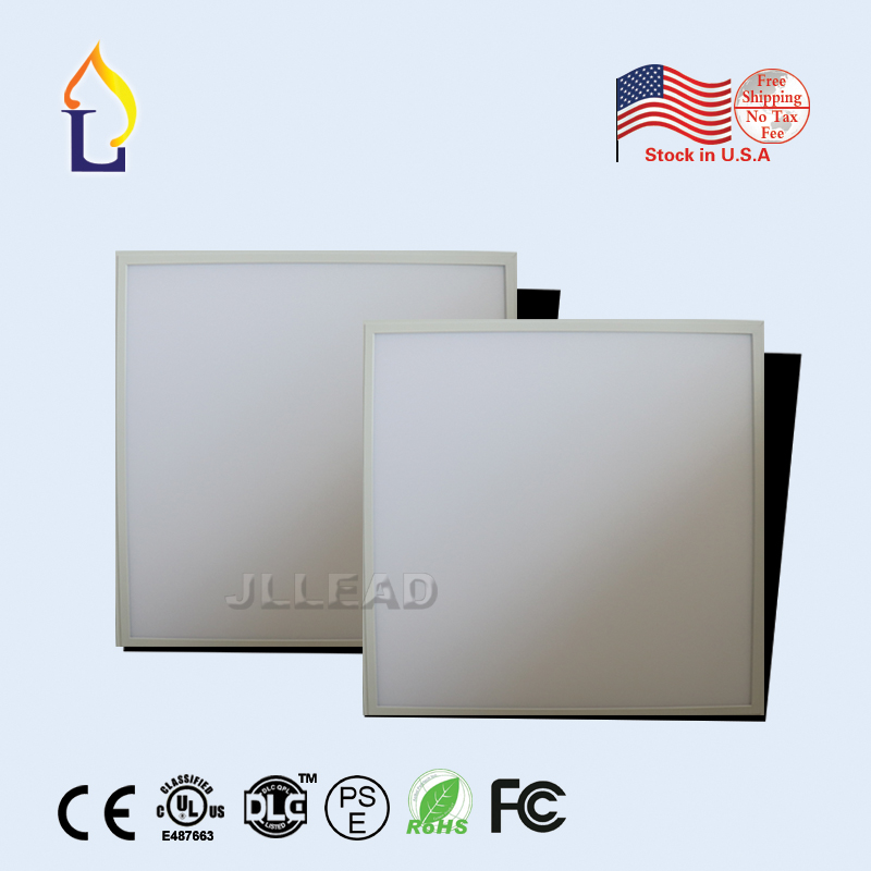 (4 pcs/lot) 40W SMD2835 recessed Led Ceiling Light  white frame Led down Light AC100-277V 110LM/W Led Square Panel Light