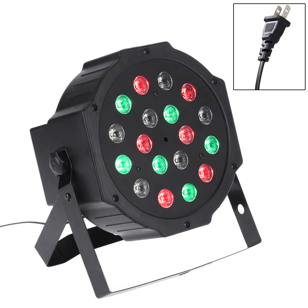 TSLEEN Led Stage Lights 18 Led DMX512 Disco Laser RGB Effect Light Party Christmas Xmas Laser Projector Lamp Outdoor DJ Disco