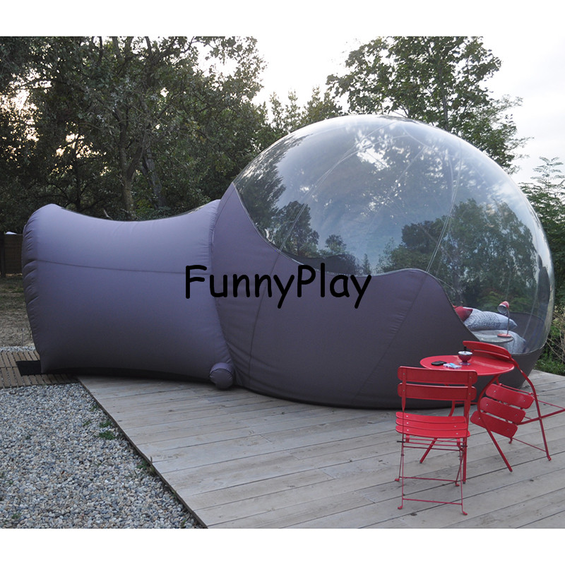 2cea5469210 Bubble Tent For Family Camping Backyard Advertising With Pump ...