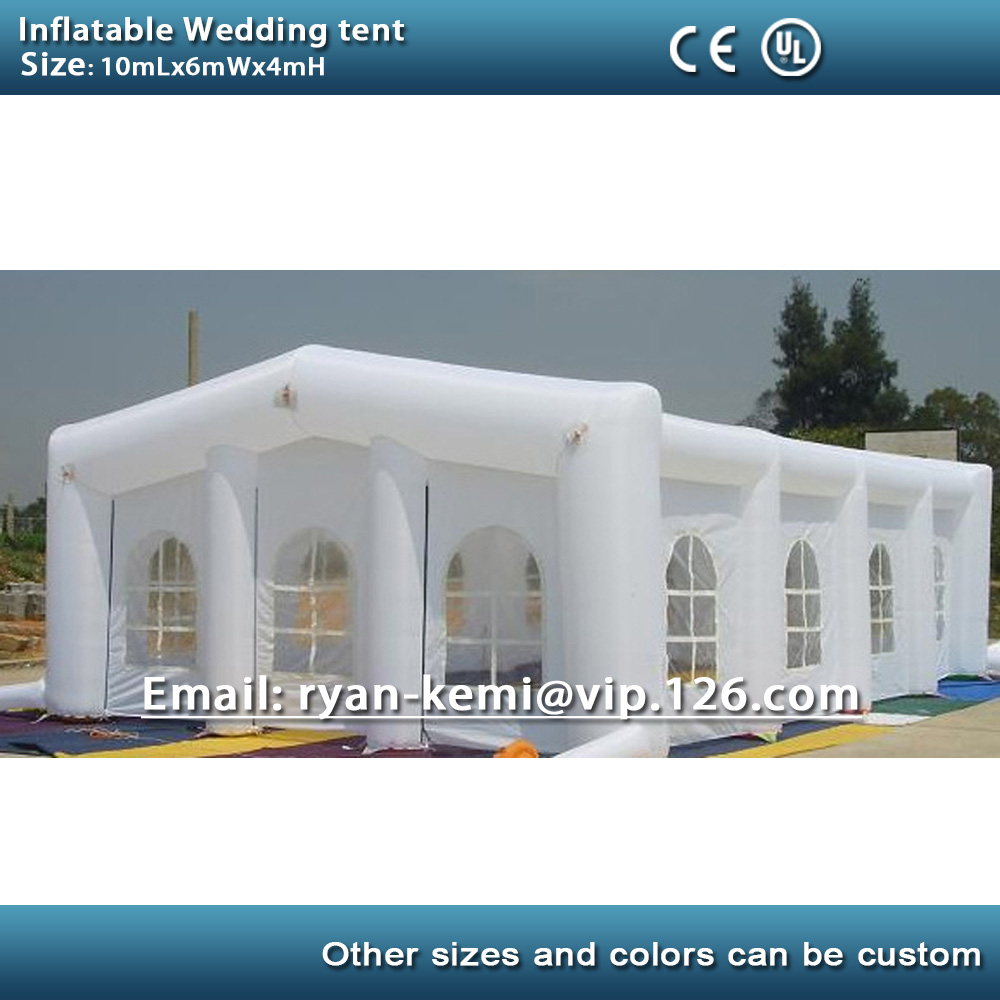 10m Inflatable Wedding Tent Inflatable Party Tent Outdoor