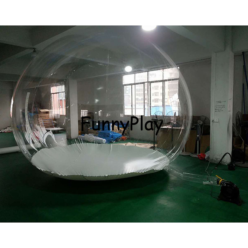 inflatable clear Camping Tent3
