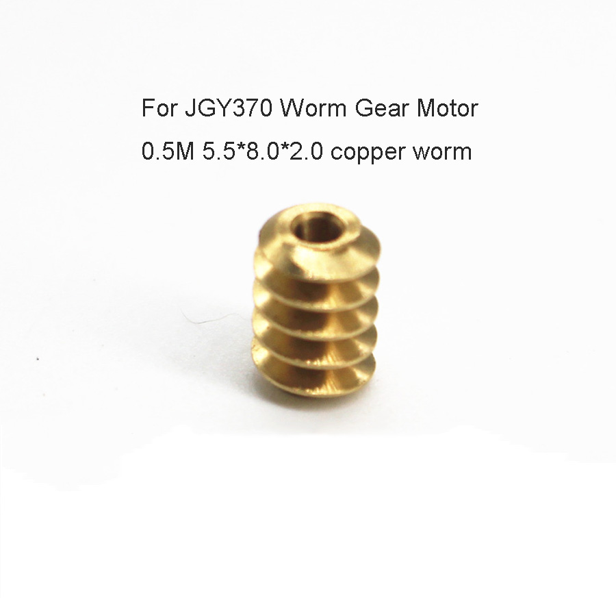 0.5m Gear Worm for Jgy370 Gear Motor