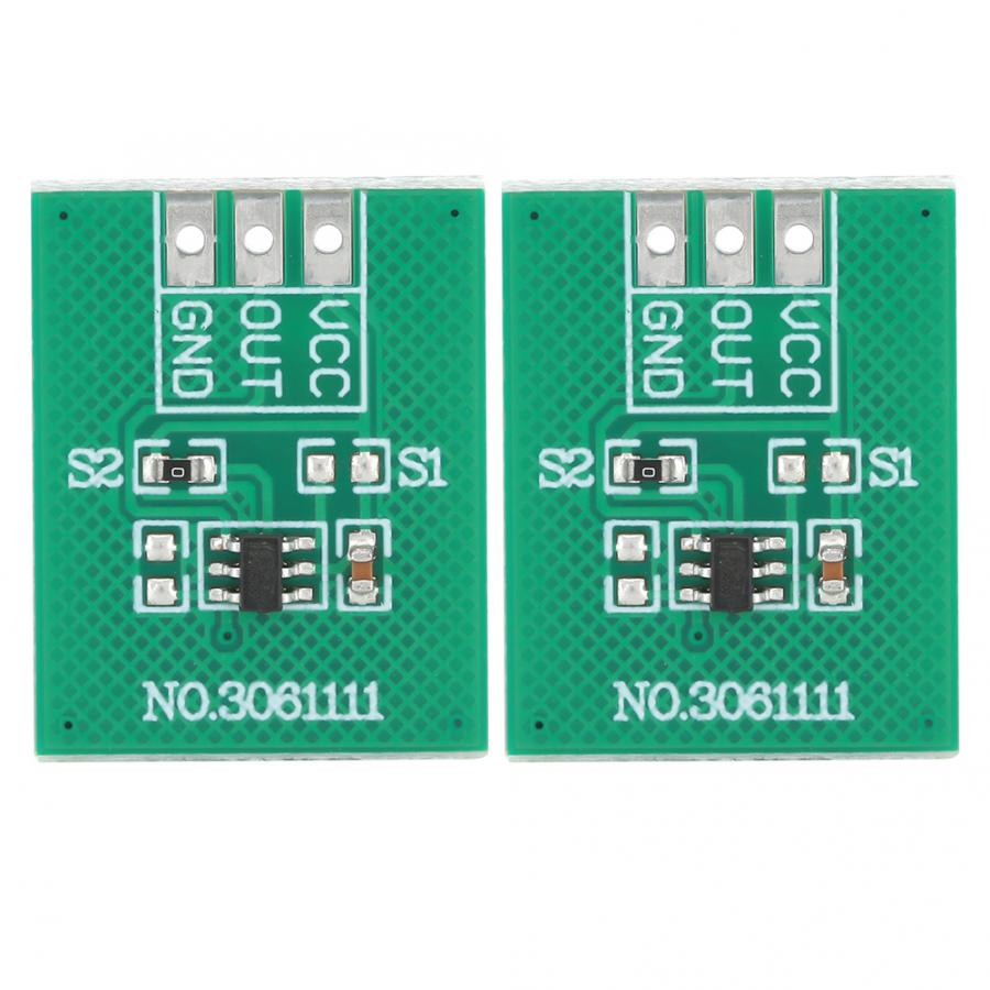 2pcs TTP223-BA6 Capacitive Touch Button Module High Low Level Output 2.5V-5.5V