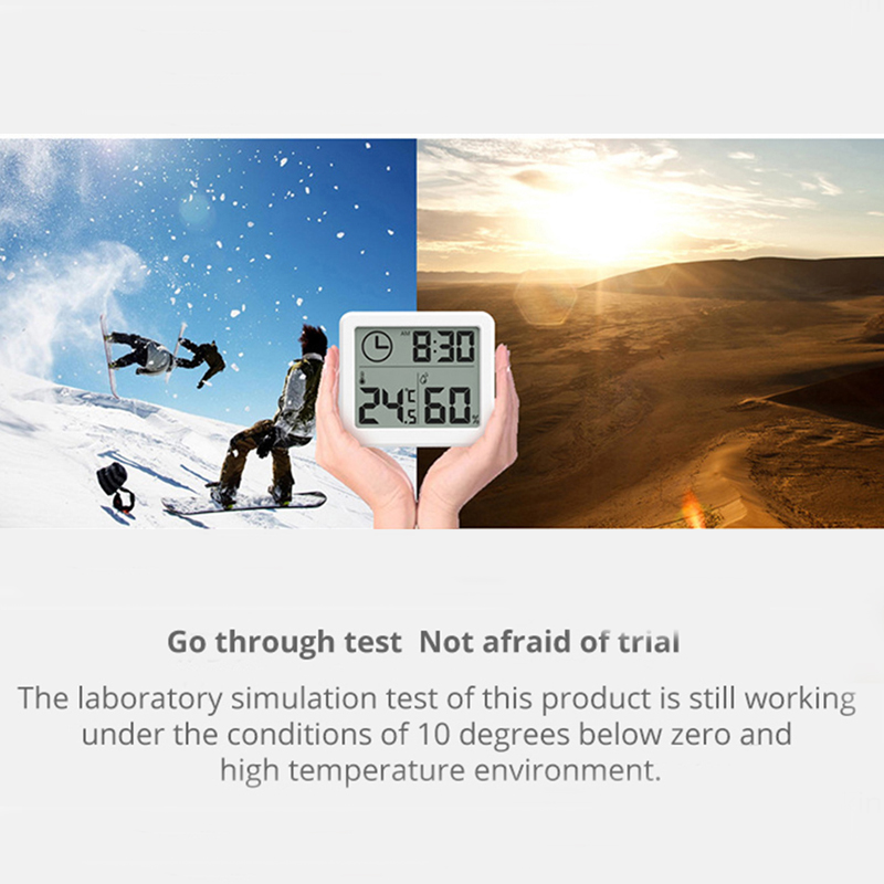3.2inch Large Screen Multifunction Automatic Electronic Temperature & Humidity Clock