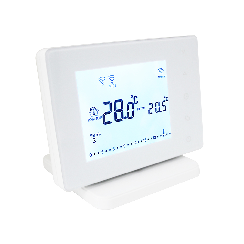 WiFi & RF Wireless Room Thermostat Programmable Temperature Regulator Gas Boiler Heating Remote Control Temperature Controller