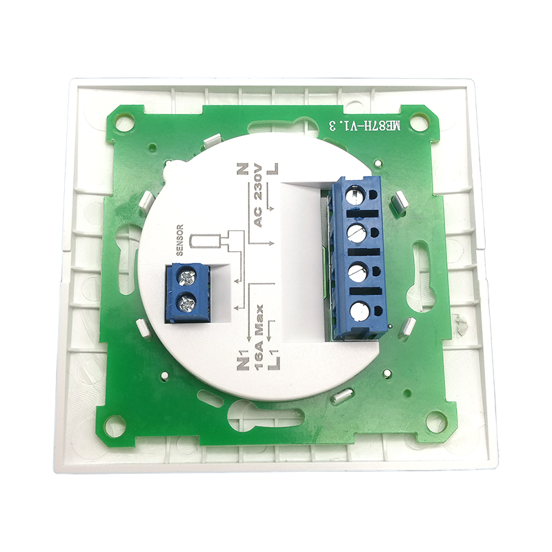 ME87 Manual 230V 16A 3meters Sensor Temperature Controller Room Thermostat for Electric Heating System