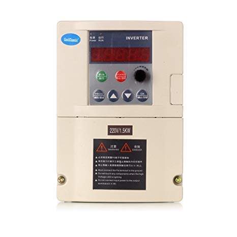 VFD Inverter Free Shipping ZW-S2-2T 1.5KW/2.2KW Single Phase 220v Input Three-Phase Output
