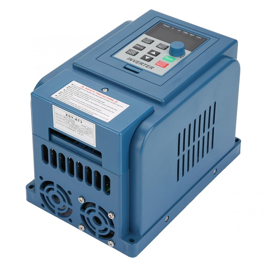 Solar Inverter 1PC AC 380V 1.5kW 4A Variable Frequency Drive VFD 3 Phase Speed Controller Inverter Motor DC DC Converter
